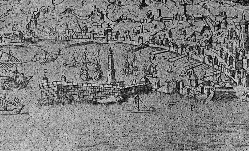 Molo di Genova XVI secolo