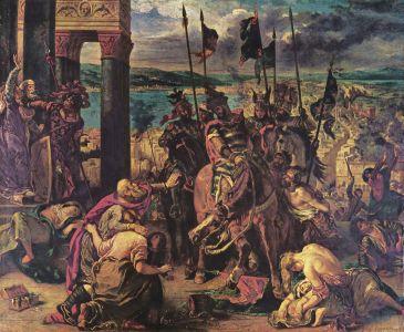 Delacroix - I crociati entrano in Costantinopoli