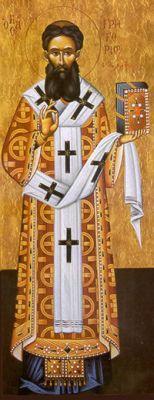 San Gregorio Palmas vescovo di Tessalonica