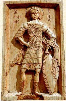 San Demetrio protettore di Tessalonica