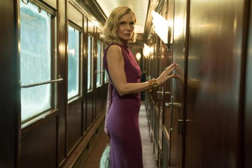 "Michelle Pfeiffer stars in Twentieth Century Fox's ""Murder on the Orient Express."""