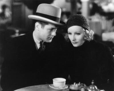 """Inspiration"" Robert Montgomery, Greta Garbo 1931 MGM"
