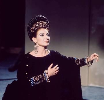 Mandatory Credit: Photo by Emilio Lari/REX (271480ab) MARIA CALLAS Maria Callas in screenshot from Pasolini's MEDEA opera film