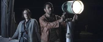 Luisa Amatucci e Helmi Dridi in una scena del film Caino di Stefano Amatucci
