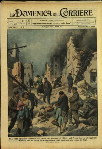 Domenica del Corriere 1937_05_09 ©Biblioteca di Storia Moderna e Contemporanea